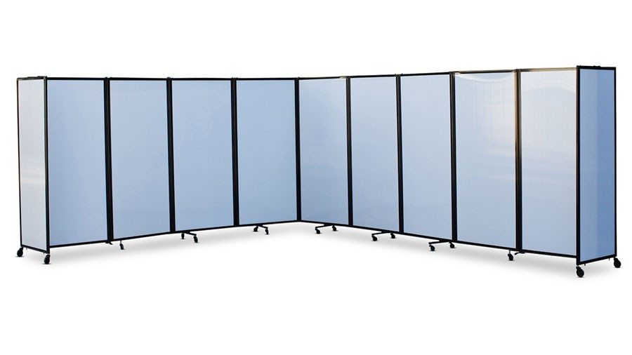 360 Acoustic Portable Room Divider Polycarbonate Portable