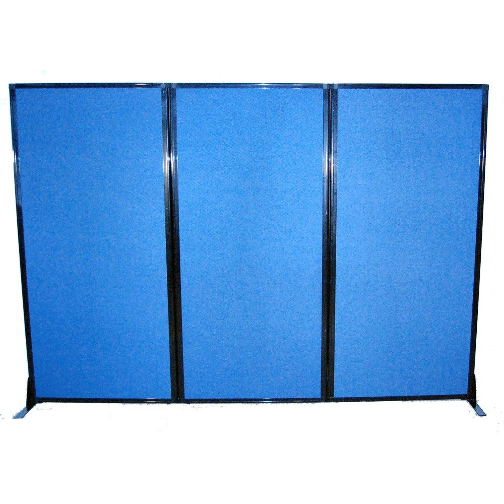 Page not found screenflex portable room iders - Affordawall Folding Mobile Room Divider Blue Fabric
