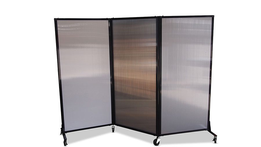 Afford-A-Wall Folding Room Divider (Polycarbonate ...