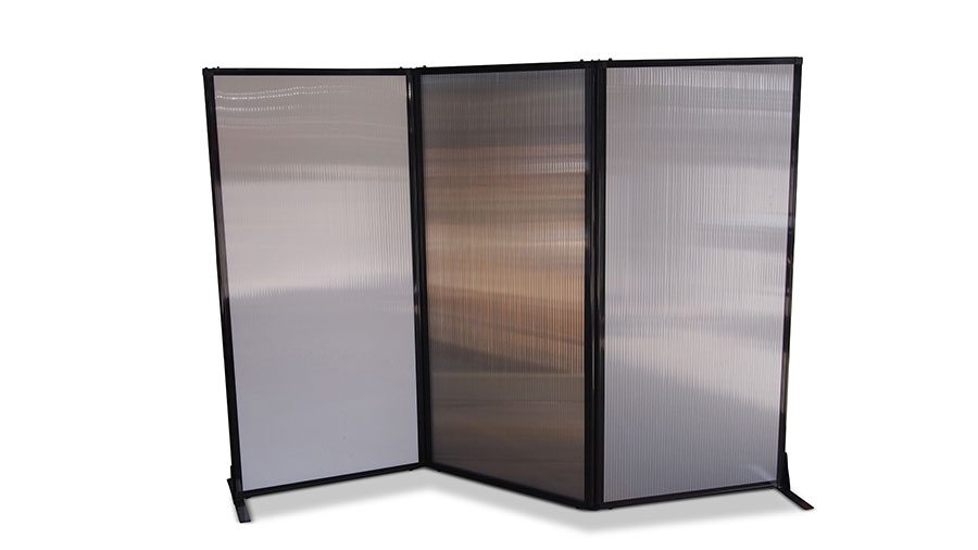 Afford A Wall Folding Room Divider Polycarbonate Portable