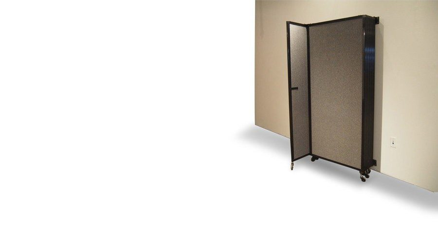 Straightwall Acoustic Partition Wall Mountable Fabric 360 Folding Portable Room Divider