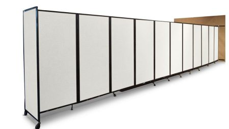 360 Folding Room Divider   Wall Mountable  Workstation Office Screen   Portable Partitions New Zealand. Office Wall Dividers Nz. Home Design Ideas