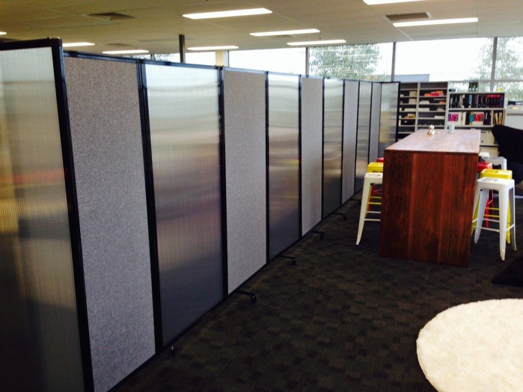 Creating office break out areas using mixed fabric   polycarbonate room  dividerOffice Partitions and Dividers   Portable Partitions New Zealand. Office Wall Dividers Nz. Home Design Ideas
